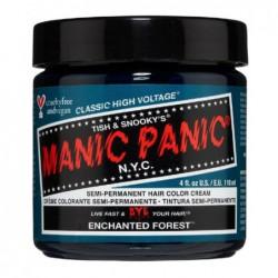 Pusiau ilgalaikiai, kreminiai plaukų dažai Manic Panic Hair Color Cream Enchanted Forest MEU11009, 118 ml