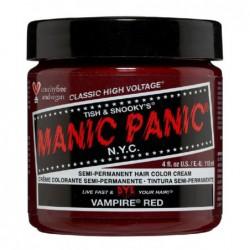 Pusiau ilgalaikiai, kreminiai plaukų dažai Manic Panic Hair Color Cream Vampire Red MEU11032, 118 ml