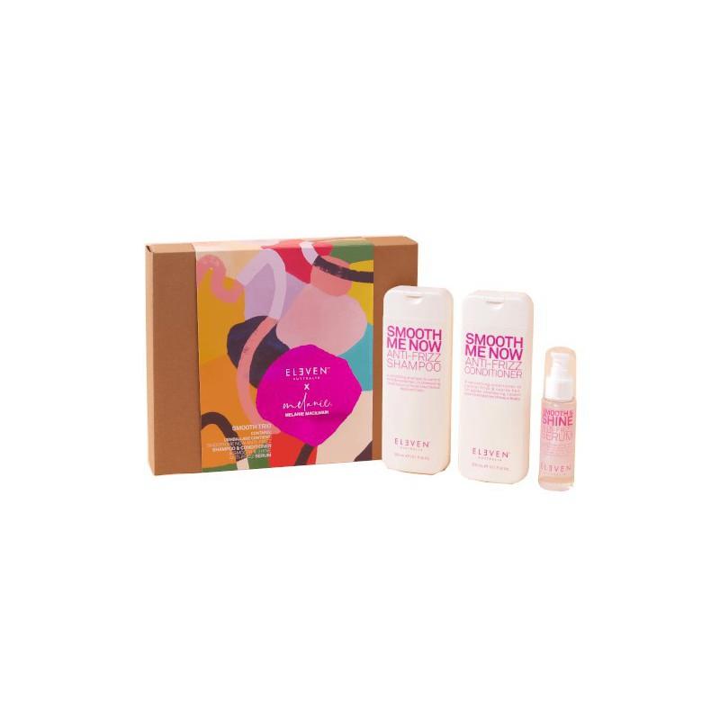 Plaukų priežiūros priemonių rinkinys Eleven Australia Smooth Holiday 2020 ELED076 - limited edition