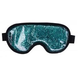 Šildanti/šaldanti akių kaukė - miego akiniai beOSOM Hot & Cold Glitter Eye Mask Blue PAK03, mėlyna