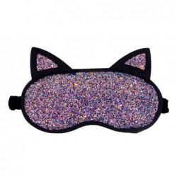 Šildanti/šaldanti akių kaukė - miego akiniai beOSOM Hot & Cold Eye Mask OSOM02024, blizganti, su ausytėmis