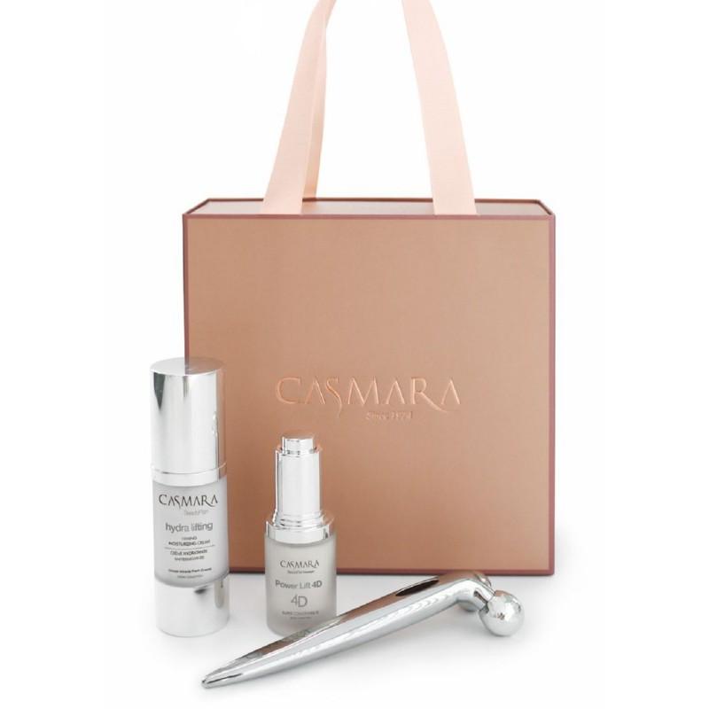 Veido priežiūros priemonių rinkinys Casmara Hydra Lifting Plus Cream Beauty Box CASAL712 - Limited edition