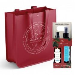 Plaukų priežiūros priemonių rinkinys Marrakesh Light Breeze Scent Holiday Bag Deal MKFHHSGS046, rinkinį sudaro aliejus plaukams Marrakesh Oil, 60 ml ir plaukų iššukavimą lengvinanti priemonė Marrakesh X Leave, 118 ml