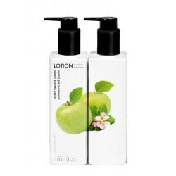 Parfumuotas losjonas rankoms ir kūnui Kinetics Hand & Body Lotion Green Apple & Jasmin KL017, su žaliaisiais obuoliais ir jazminais, 250 ml