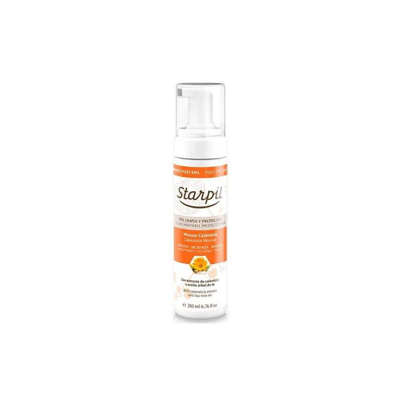Plaukų įaugimą lėtinančios putos po depiliacijos Starpil Retardant Mousse STR3010607003, su medetkomis, 200 ml