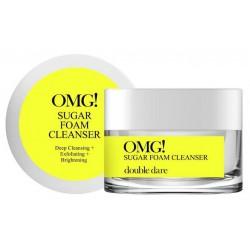 Kreminis, šveičiamasis veido odos prausiklis OMG! Sugar Foam Cleanser OMG-SUGAR, 30 g