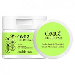 Padeliai veido odos valymui ir šveitimui OMG! Feeling Pad OMG-PAD, 70 padelių, 165 ml