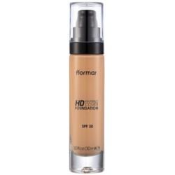 Makiažo pagrindas Flormar Invisible Cover HD Foundation 70 Creamy Beige FLOR31000054-070, pilnai maskuojantis, 30 ml