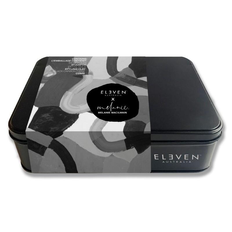 Plaukų priežiūros priemonių rinkinys vyrams Eleven Australia Men's Trio Tin Box ELED080 - limited edition