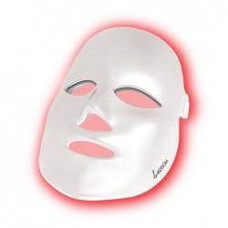 LED šviesos terapijos kaukė veidui Be OSOM Skin Rejuvenation Face Mask White BEOSOMSR11WH, fotodinaminė šviesos terapija