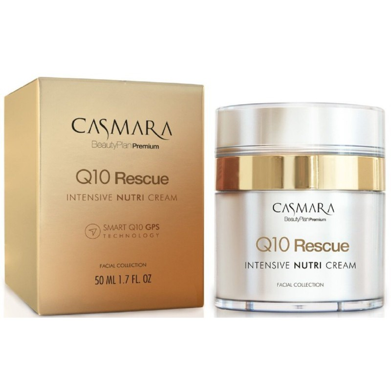 Veido odos kremas Casmara Q10 Rescue Cream CASA17201, stabdo veido odos senėjimą, 50 ml