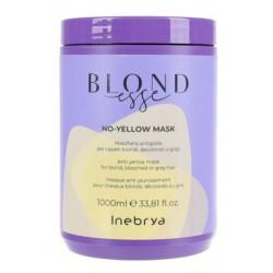 Kaukė šviesiems plaukams Inebrya Blondesse No-Yellow Mask ICE26237, 1000 ml