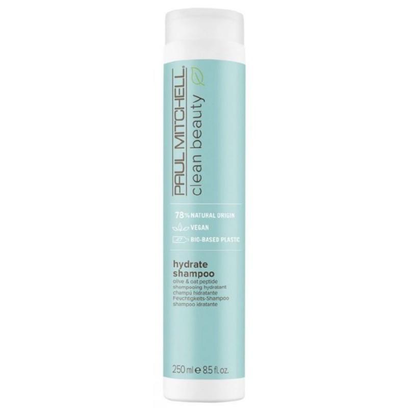 Šampūnas plaukams Paul Mitchell Clean Beauty Hydrate Shampoo PAUL121012, drėkinantis plaukus, 250 ml