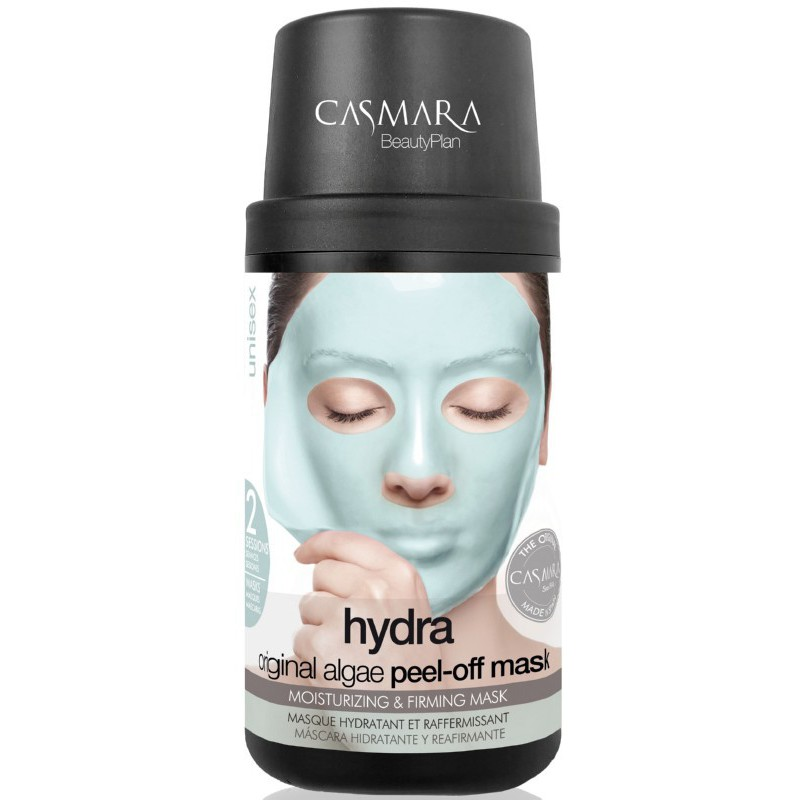 Alginatinė veido kaukė Casmara Hydra Algea Peel Off Mask Kit CASA73002, drėkinanti veido odą, 2 kartams