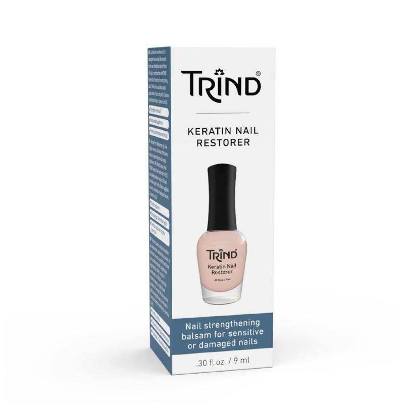 Atstatomoji nagų priežiūros priemonė su keratinu Trind Keratin Nail Restorer TR112-401