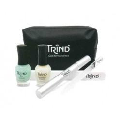 Rankų ir nagų priežiūros priemonių rinkinys Trind Perfect Nail Gift Set TR60009418, 4 dalių