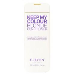 Kondicionierius plaukams Eleven Australia Keep My Colour Blonde Conditioner ELE154, skirtas šviesiems plaukams, neutralizuoja geltoną atspalvį, 300 ml