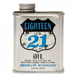 Aliejus barzdai, plaukams ir odai 18.21 Man Made Oil Absolute Mahogany, OIL2AM, 60 ml