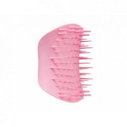 Plaukų šepetys Tangle Teezer The Scalp Exfoliator & Massager, Pretty Pink TT31051, masažuoja galvos odą