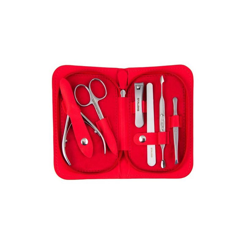 Manikiūro rinkinys Staleks Manicure Set Multi-Porpose NM-10 / MS-10, 6 dalių, universalus