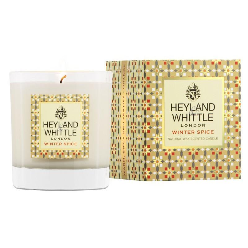 Aromatinė žvakė Heyland & Whittle Candle In A Glass Winter Spice HW109, 230 g