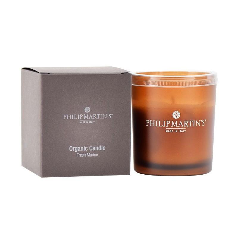 Aromaterapinė žvakė Philip Martin's Candela Fresh Marine PM557, gaivaus kvapo, 136 gr.