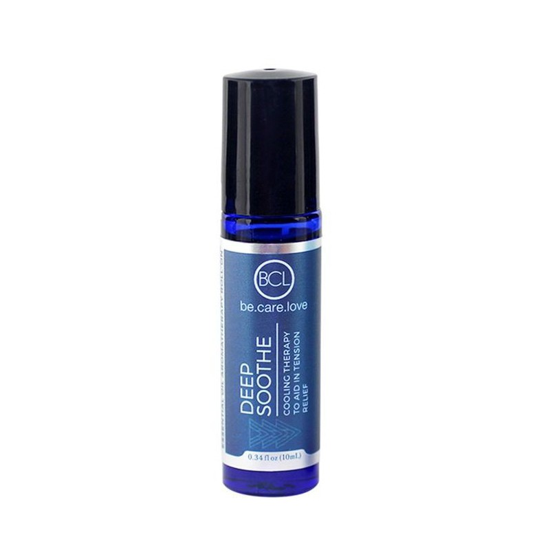 Eterinis aliejus su masažine galvute BCL Be Care Love Deep Soothe Essential Oil Roll-On BCLSPA631012,  raminantis, 10 ml