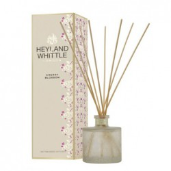 Kvapas namams su lazdelėmis Heyland & Whittle Gold Classic Cherry Blossom Reed Diffuser HW261, 200 ml