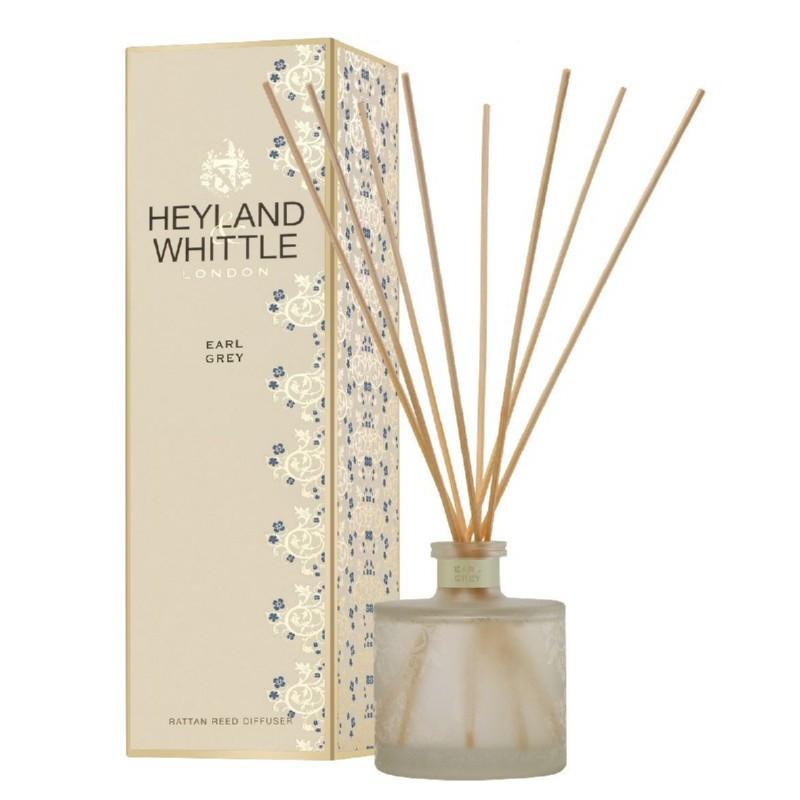 Kvapas namams su lazdelėmis Heyland & Whittle Gold Classic Earl Grey Reed Diffuser HW338, 200 ml