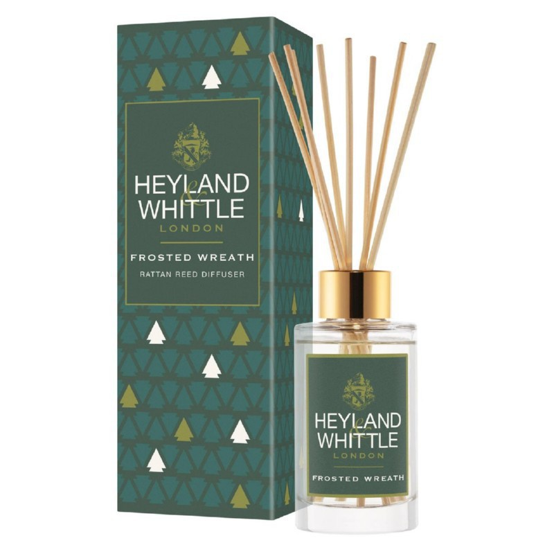 Kvapas namams su lazdelėmis Heyland & Whittle Reed Diffuser Frosted Wreath HW673, 100 ml