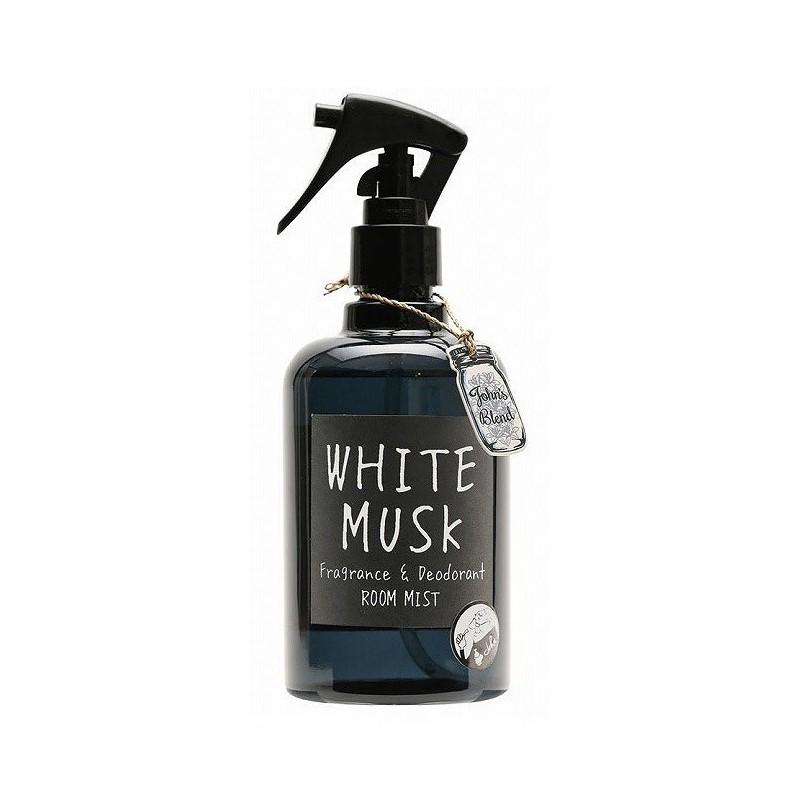 Purškiamas kvapas namams John's Blend Fragrance & Deodorant Room Mist White Musk, OAJON0201, muskuso kvapo, 280 ml