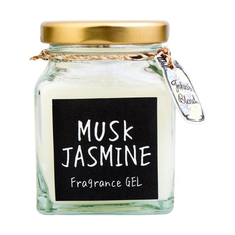 Gelinis namų kvapas John's Blend Fragrance Gel Musk Jasmine, OAJON0406, muskuso ir jazminų kvapo, 135 g