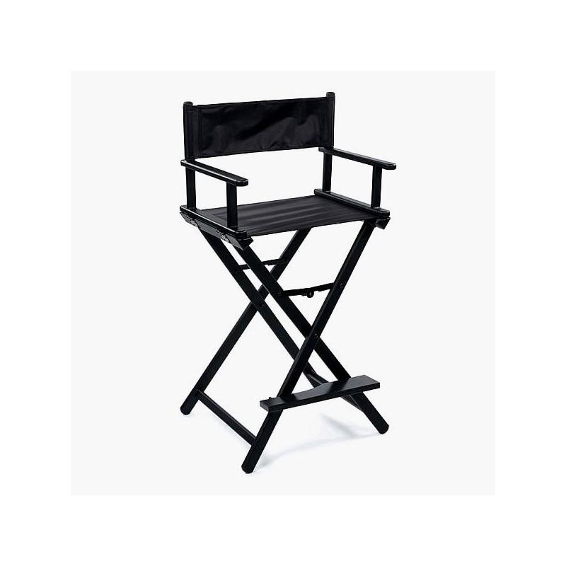 Makiažo kėdė Sibel Make Up Chair Nathalie SIB7300753, juodos spalvos, sulankstoma