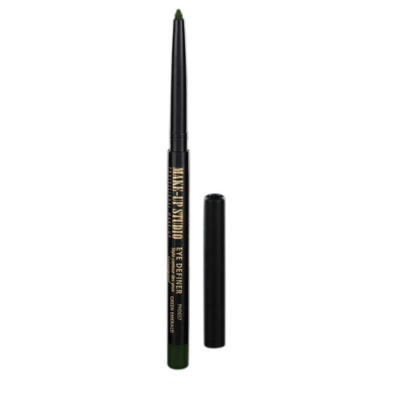 Akis išryškinantis pieštukas Make Up Studio Eye Definer in Box Green Emerald PH0657BGE