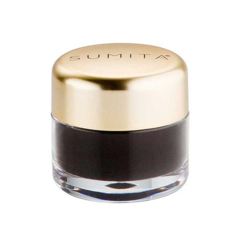Gelinis akių pravedimas Sumita Gel Eyeliner - Black SUM8024, juodos spalvos, 4 g