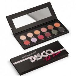 Akių šešėlių paletė Bodyography Disco 'Til Dawn Palette BDE6580, 12 spalvų