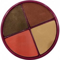 Flormar Pretty kompaktiniai akių šešėliai, keturių spalvų FLOR0212049-P041