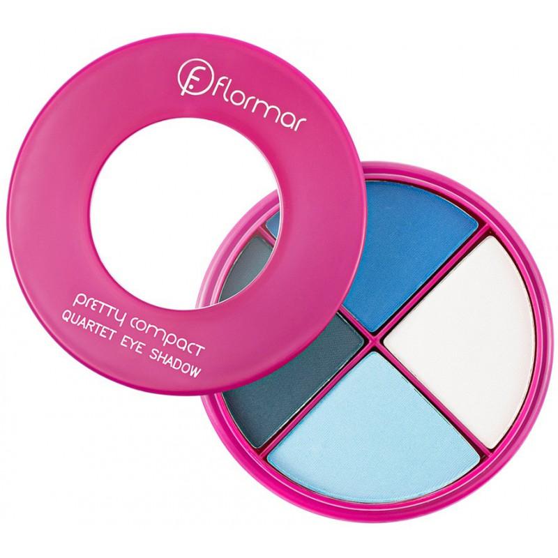 Flormar Pretty kompaktiniai akių šešėliai keturių spalvų FLOR0212049-P042