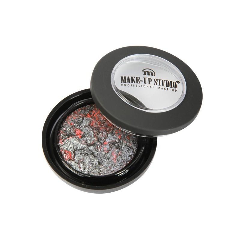 Blizgūs, spalvoti akių šešėliai Make Up Studio Eyeshadow Moondust Volcano PH0717V, 1.8 ml
