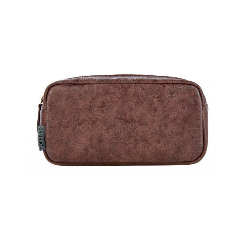 Vyriška kosmetinė Heathcote & Ivory Morris Mens Wash Bag, MOFG7328, rudos spalvos