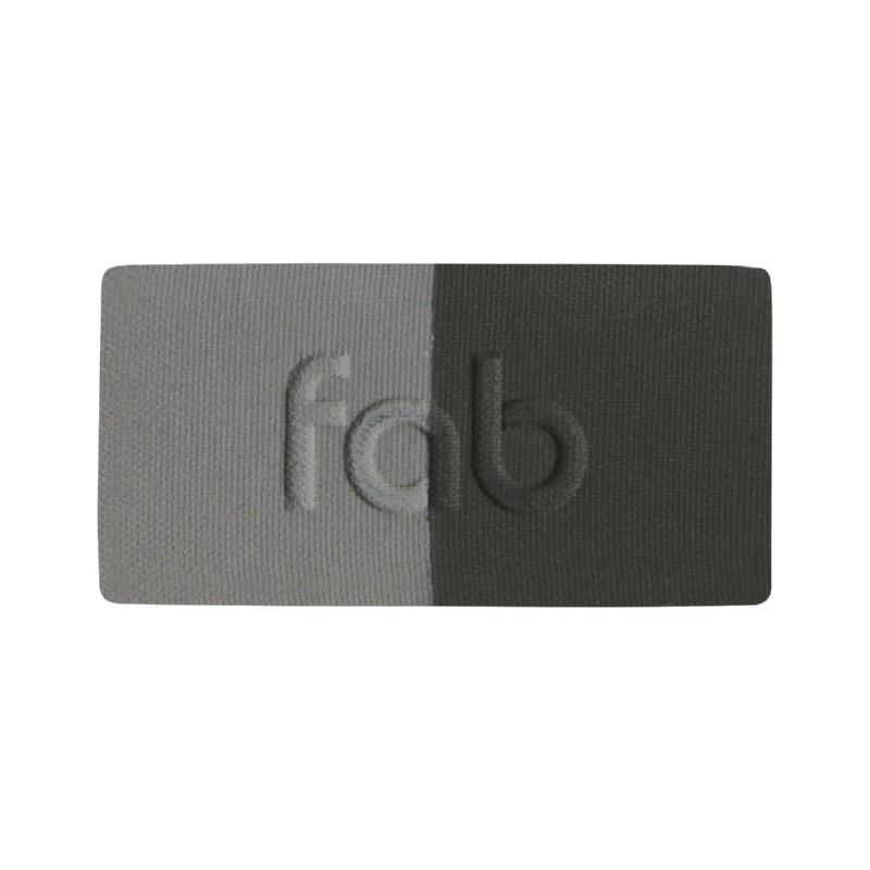 Antakių šešėlių rinkinys Fab Brows Eyebrow Kit DUO: Slate - Black FBDUP03, grafito - juoda spalvos