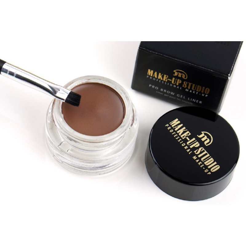 Geliniai antakių dažai Make Up Studio PRO Brow Gel Liner Warm Blond PH10957WB