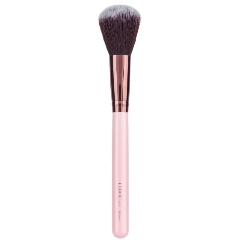 Kosmetinis teptukas Luxie Rose Gold 514 Blush Brush LUXIE5010, teptukas skaistalams, sintetinio plauko šereliai
