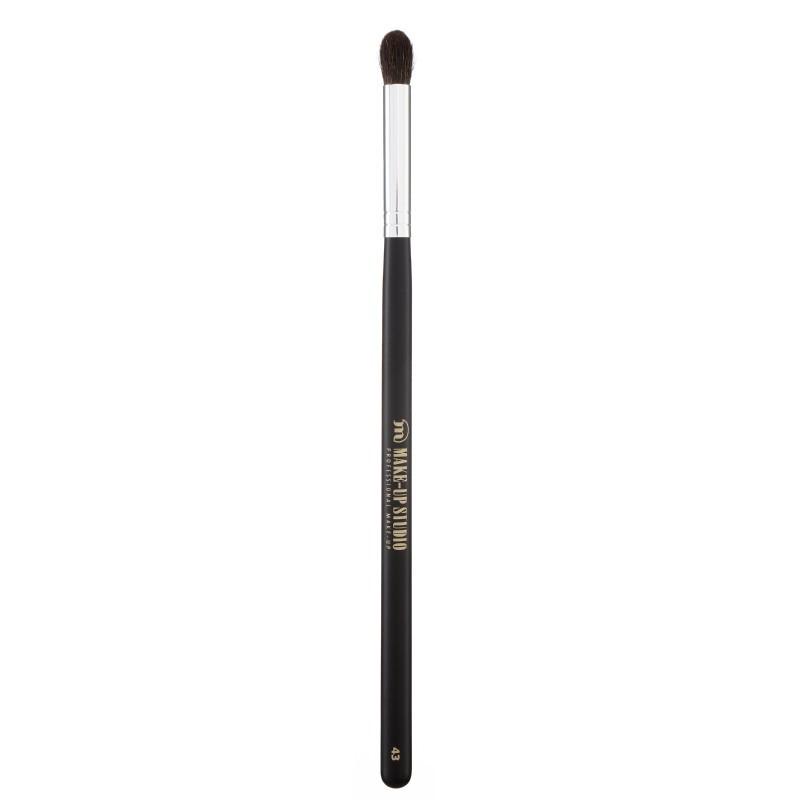 Šepetėlis šešėlių retušavimui Make Up Studio No. 43 Eye shadow blend brush / Pony hair / medium PH3643