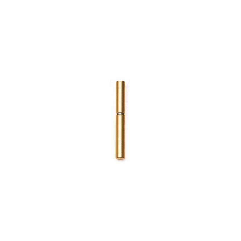 Kosmetinis šepetėlis Sibel SIB000050033, auksinės spalvos, ožkos plaukų, 12 cm