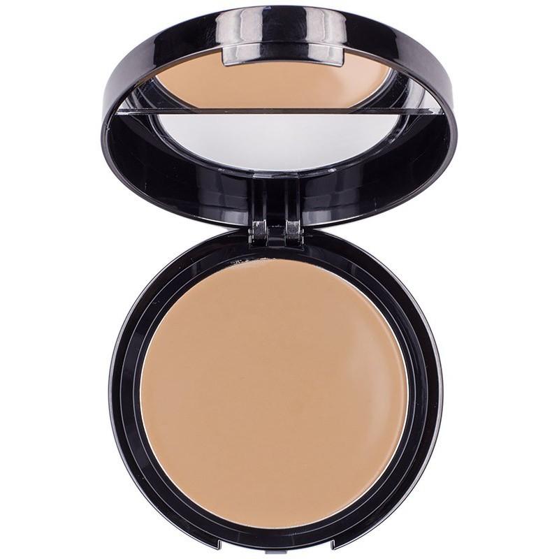 Kreminė kompaktinė pudra Bodyography Silk Cream Compact Foundation 03 Light Medium BDCF7103, 8.4 ml
