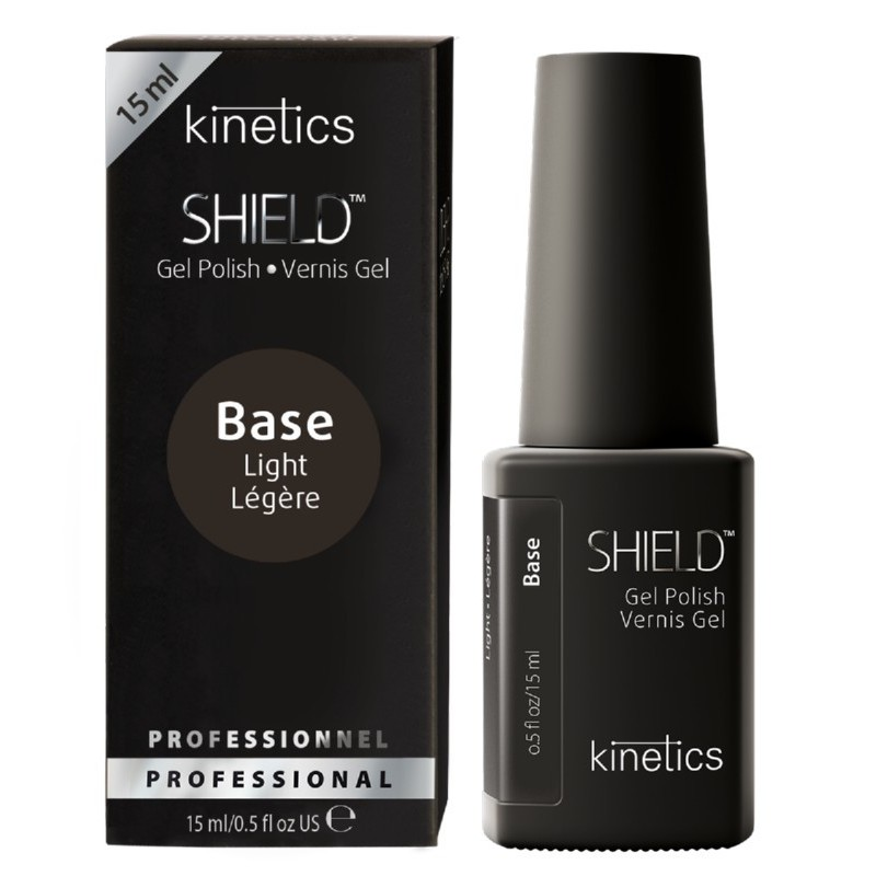 Gelio lako pagrindas Kinetics Shield Light Base KGPBLN, 15 ml