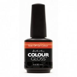 Gelis-lakas Artistic Colour Gloss Haute Cout - Orange ART03087, 15 ml