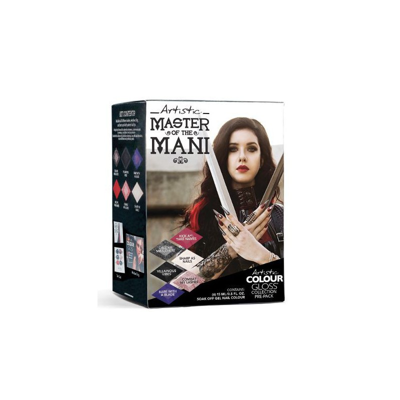 Gelio-lako rinkinys Artistic Winter 2018 Pre Pack Master Of The Mani ART2120015