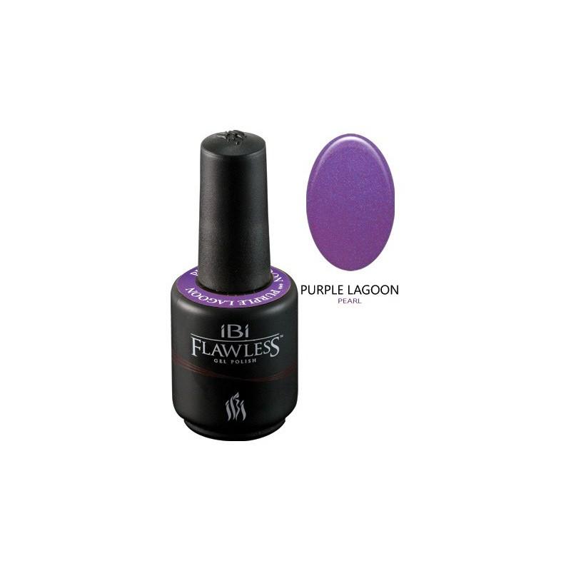 Nagų lakas-gelis IBI Flawless Spring Break Collection, Purple Lagoon P F216, 15 ml